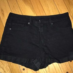 Forever21 denim shorts in black size 31